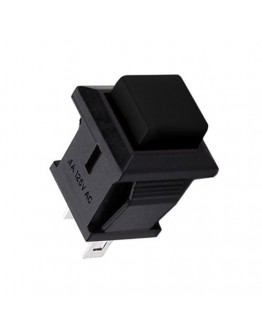 Push-button K B4 250V/1A Black