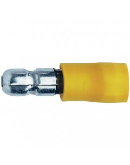 Cable terminal, isulated, male, round 5mm, KO17