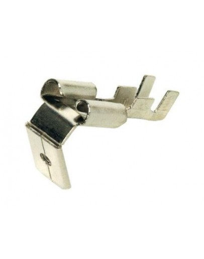 Terminal flat, non-insulated, male/female 6.3mm, ST025-2