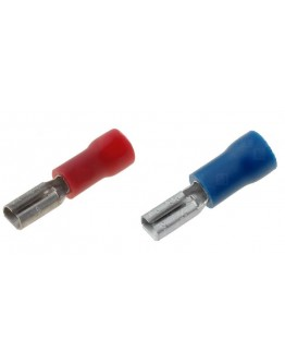 Cable terminal, isulated, female 2.8mm, KO10