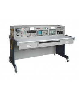 Training bench with instrument housing TB1200