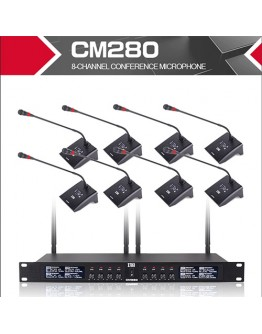 UHF professional wireless microphone - 8 channel CM280