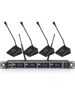 UHF professional wireless microphone - 4 channel A140