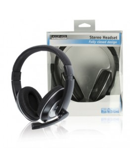 Stereo headset with microphone HEADSET130