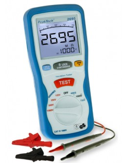 Digital Insulation tester PEAKTECH 2695