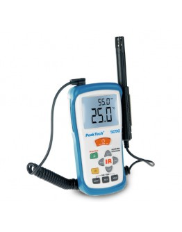 IR Temperature and Humidity Meter PEAKTECH 5090, -50...+500°C