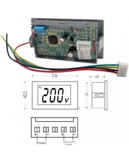 Digital Panel Meter, 100V DC