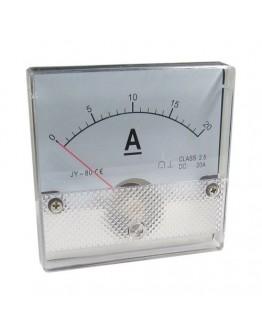 Analog Panel Meter R053, 0-20 A/DC