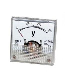 Analog Panel Meter R071, 0-300 V/AC