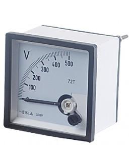 Analog Panel Meter VSD96, 0-500 V/AC