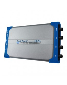 Digital USB Oscilloscope PEAKTECH 1325, 4x60MHz