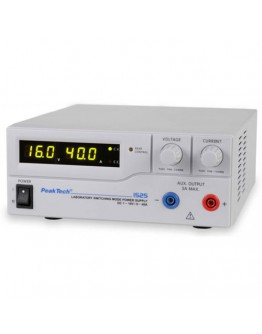 Power Supply 16V/40A, PEAKTECH 1525