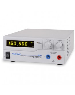 Laboratory Switching Mode Power Supply 16V/60A, PEAKTECH 1530