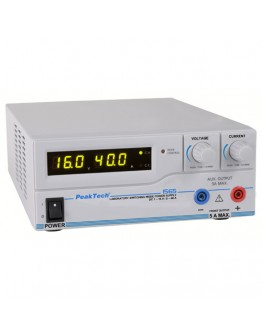 Laboratory Switching Mode Power Supply 16V/40A, PEAKTECH 1565