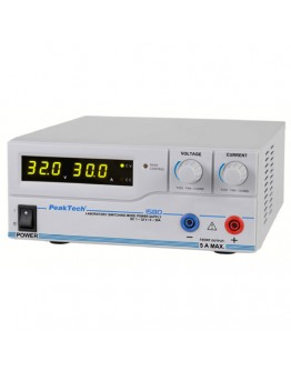 Laboratory Switching Mode Power Supply 32V/30A, PEAKTECH 1580