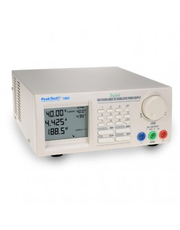 Laboratory Switching Mode Power Supply 40V/5A, PEAKTECH 1885