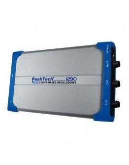 Digital USB  Oscilloscope PEAKTECH 1290, 2x25MHz