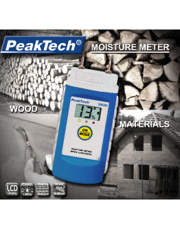 Moisture Meter PEAKTECH 5200