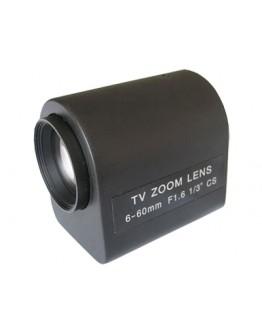 Motorized Vario Lens 6~60mm