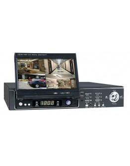 Digital Video Recorder With Monitor TFTDVR2004