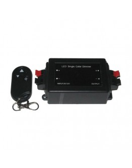 RF dimmer for one-colour LED strips