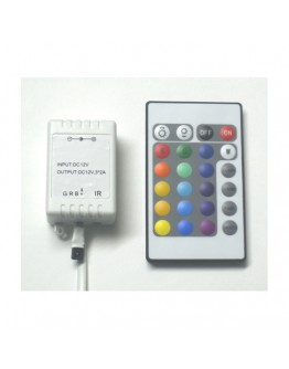 Controller for one-colour LED strips RGB-24K