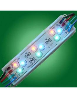 Led module, 9 diodes,  RGB, waterproof, DL5H
