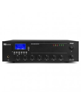 Amplifier 100V PPA50 (Bluetooth,USB, SD, AUX, MIC, RC)