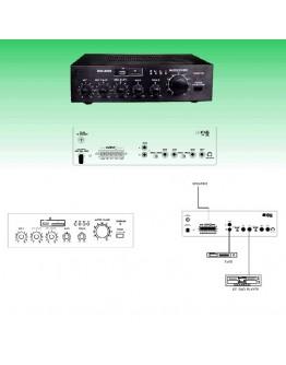 Amplifier 100V SM265 (USB, SD)