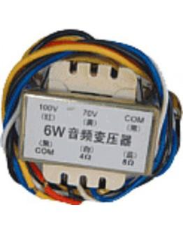 Matching transformer 70/100V 6W