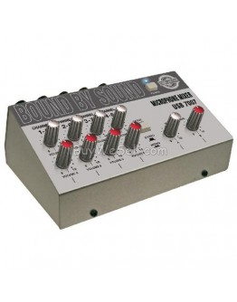 2 x 4 channel mono microphone mixer