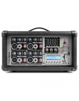 Power Dynamics PDM-C804A Powered Mixer 4-Channel MP3/ECHO