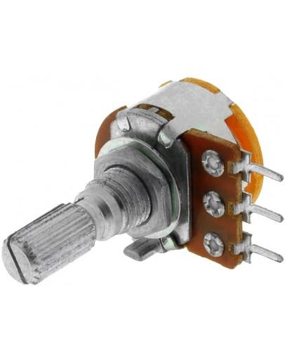 Potentiometer with switch 10KΩ, mono