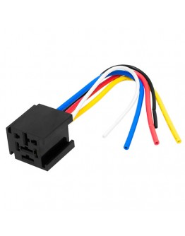 Socket for automotive relay 80A
