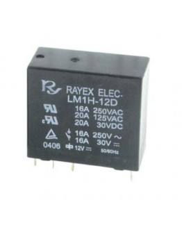Relay LM1H-24D, 24V/16A