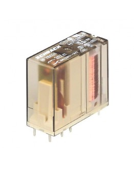 Relay RP421-12, 12V/8A with two contacts