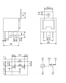 Automotive Relay LDN-12F, 12V/40A