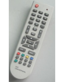 Universal remote control for satellite receivers URC SAT