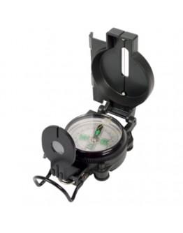 Metal liquid compass military look