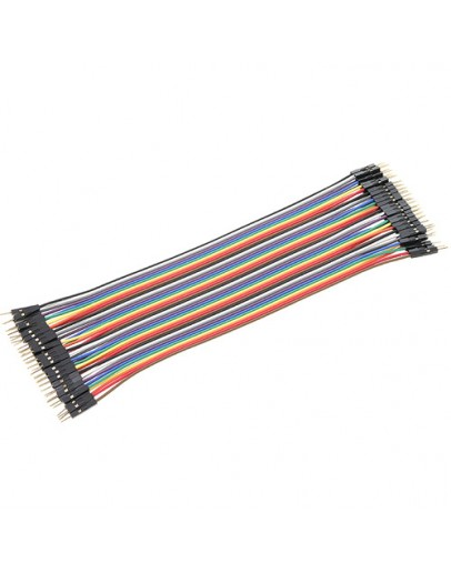 Set of cables for breadboard 40 pcs.