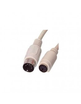 Cable Din-5 pins,M - PS/2,F
