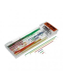 Set of cables for breadboard 140 pcs.