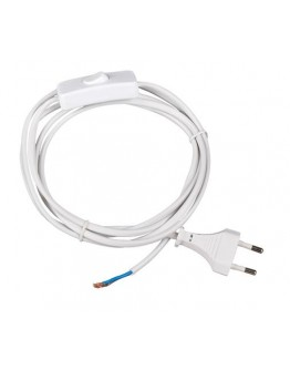 Power cable with switch without plug-2x0,75mm2