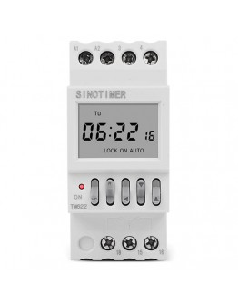 Electronic Timer For School Bell DIN
